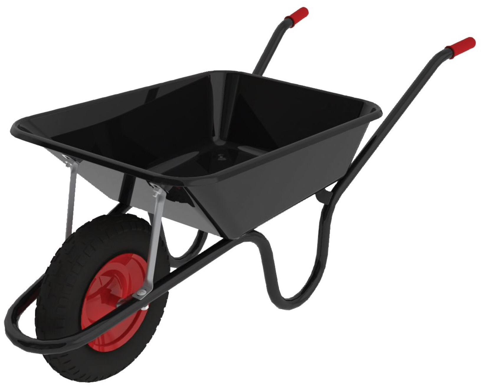 Chillington Camden Classic Black Wheelbarrow - 85L - £28 Click and Collect  @ Wickes