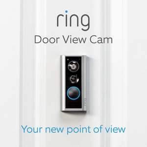 Ring Full HD 1080p Door View Cam with Additional Quick Release Battery £139.99 @ Costco