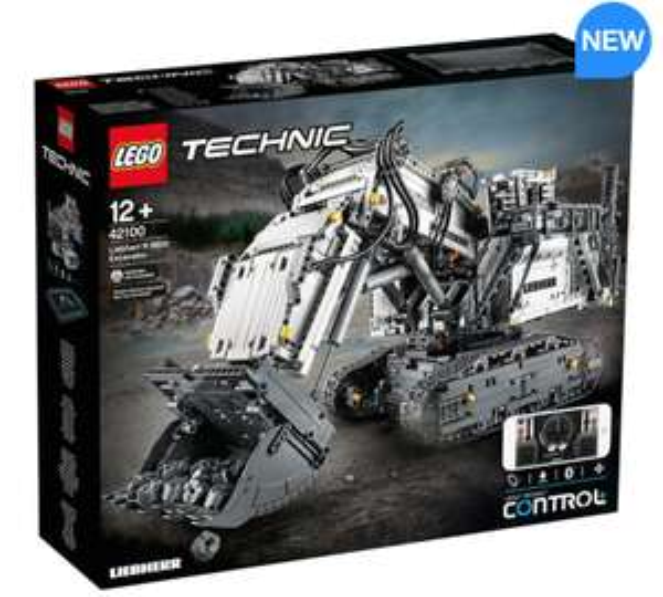 42100 Lego Technic Liebherr R9800 Excavator - £289.99 inc delivery at Costco online
