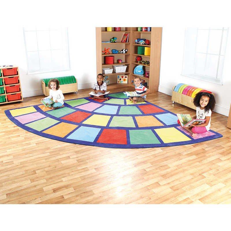 Huge 3m X 3m corner carpet £31.15  @ Hawkins Bazaar (+£2.75 P&P)