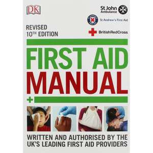 First Aid Manual - St.Johns Abulance - Only £4 free C+C @ The Works + possible 17% Quidco