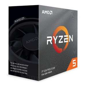AMD Ryzen™ 5 3600 AM4 Zen 2 6 Core 12 Thread, 3.6GHz, 4.2GHz Turbo, 32MB L3, PCIe 4.0, 65W, CPU, +Wraith Stealth £187.98 delivered @ Aria PC