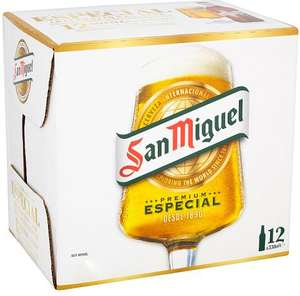 San Miguel Especial Premium Lager Bottles, Delivered Chilled 12 x 330ml for £7 @ Morrisons
