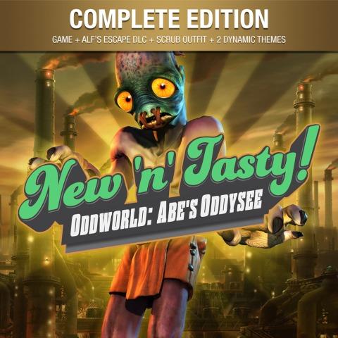 [PS4 Digital - CrossBuy] Oddworld: New 'n' Tasty: Complete Edition £2.89 / Oddworld: New 'n' Tasty £2.49 @ PlayStation Network