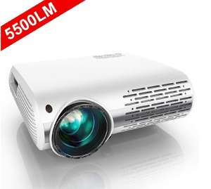 Projector, YABER 5500 Lumens 1080P HD LED Projector With 4D  (1920 x 1080) Support 4K £169.99 @ Sold by Beauty Dress Family and FBA