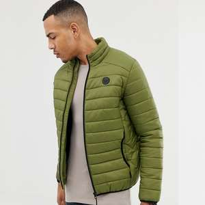 D-Struct TALL Quilted Lightweight Funnel Neck Padded Jacket - £14 + £3 Delivery @ ASOS