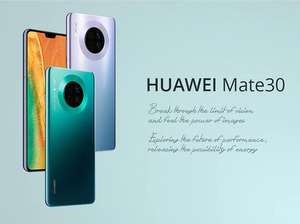 "Huawei Mate 30 6.62"" OLED Full Screen  Kirin 990 Waterproof Super Charge 4200mAh Fingerprint+Face - £540.39 @ Ali Express / The Prime Store"