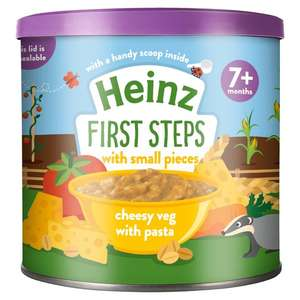 Heinz baby food reduced to 75p instore @ Boots Atherton