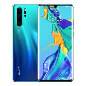 Huawei P30 Pro 128GB 8GB RAM Dual SIM (Unlocked for all UK networks) - Aurora - £559 delivered @ Wowcamera