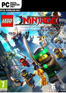 [Steam] The Lego Ninjago Movie Video Game (PC) - £2.79 @ CDKEYS