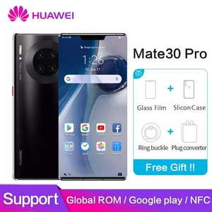 Huawei mate 30 pro Global ROM NFC Google Play mate30pro 40MP+40MP+32MP 6.53 inch Kirin £756.78 @ Ali Express / The Superfine Store