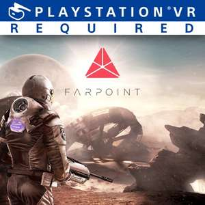 PS VR Game: Farpoint - Playstation PSN (Save an extra 10% with PS Plus) - £9.49