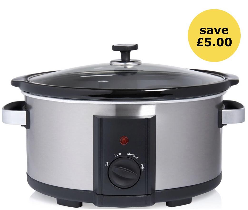 6 litre Slow Cooker - £20 + £2 C&C @ Wilko