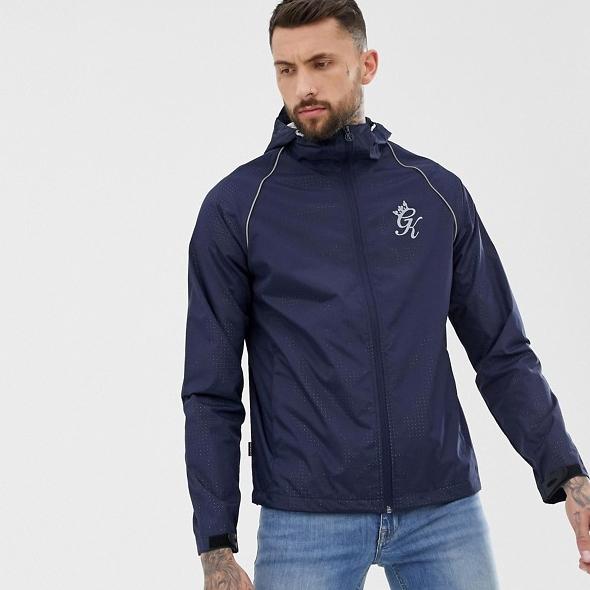 Gym King zip thru windbreaker jacket - £18.50 + £3 Delivery @ ASOS