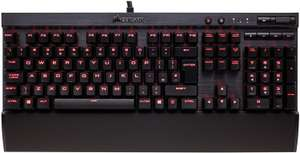 Corsair Mechanical Gaming Keyboard K70 LUX Red Backlit Cherry MX Red £69.95 at Amazon