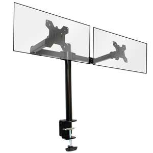 Dual Arm Monitor Bracket £14.99 Delivered using code @ Shop4World
