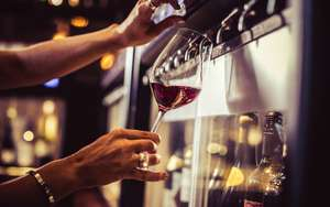 Free glass of wine at Vagabond London when you bring in tin or dry food for food bank