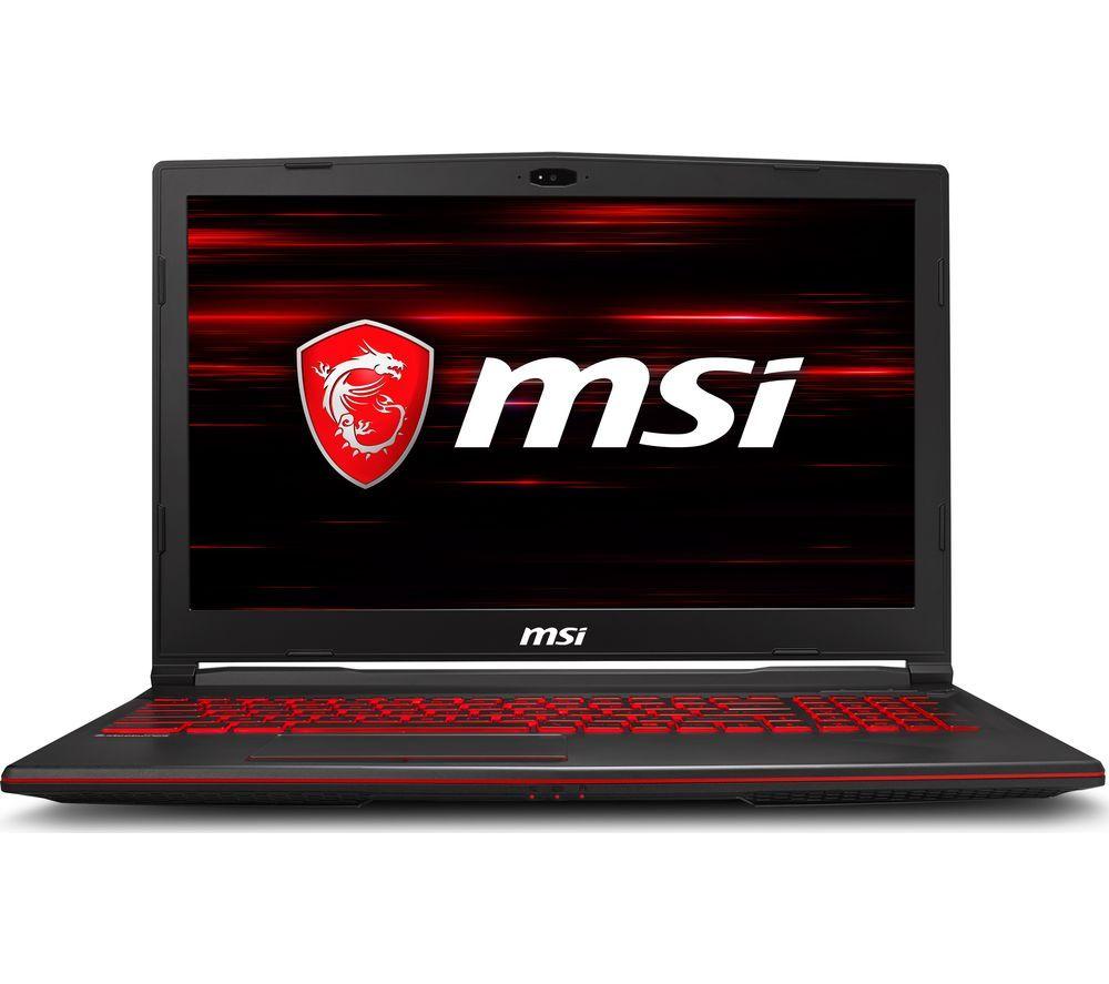 "MSIGL63 15.6"" Intel® Core™ i7-9750H  GTX 1660 6GB Ti Gaming Laptop - 512 GB SSD, Black £1099 @ Currys PC World"