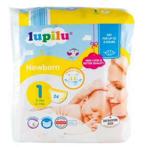 FREE Newborn Lidl Lupilu Nappies from Send Me A Sample