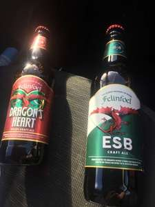 Felinfoel ESB and Dragons Heart 509ml - 79p / £1 @ Home Bargains