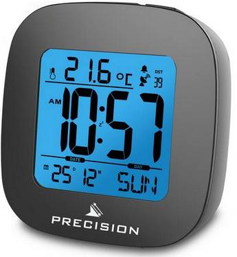Radio Controlled Precision LCD Alarm Clock + 2 Year Warranty - £7.49 + Free C&C @ Argos
