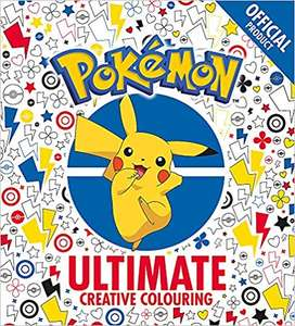 The Official Pokémon Ultimate Creative Colouring book - £2.80 (Prime) £5.79 (Non Prime) @ Amazon For Adults and Kids!