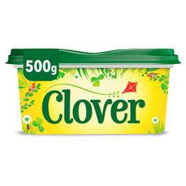 Clover & Clover Light (500g) £1 in Iceland & Asda