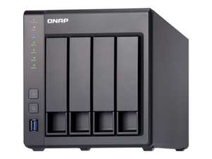 QNAP TS-431X-2G 4 Bay Desktop NAS Enclosure with 2GB RAM £328 with Next Day Delivery using code @ eBuyer