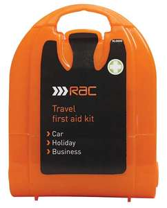 RAC Travel First Aid Micro Kit -  91p  Delivered with code  @ Carparts4less