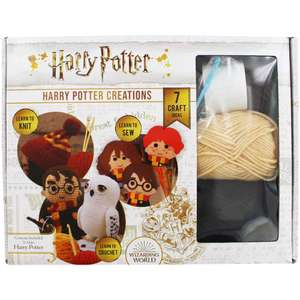 Harry Potter - Harry Potter Creations - Hardback now £7 or 2 for £10 delivered using code @ The Works
