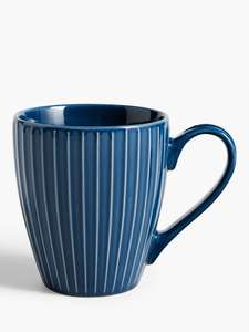 House by John Lewis Mug 370ml Navy @ John Lewis & Partners £1.20 instore (£2 Click & Collect online)
