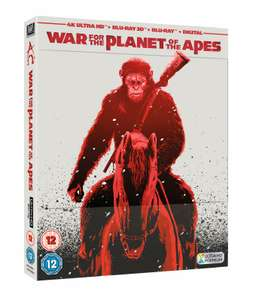 War for the Planet of the Apes 4K + 3D + 2D Blu-ray Steelbook £7.99 @ ebay /  TheEntertainmentStore