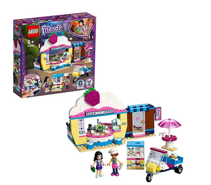 LEGO 41366 Friends Olivia's Cupcake Café Playset £12.50 @ Amazon (+£4.49 NP)