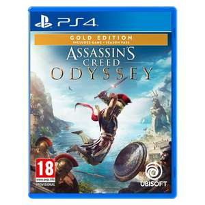 [PS4] Assassin's Creed Odyssey Gold Edition - £25.99 delivered @ 365games