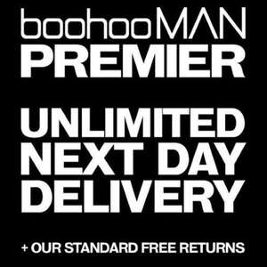 Unlimited Premier Next day delivery and free returns for a year now £7.99 (usually £9.99) @ Boohoo Man
