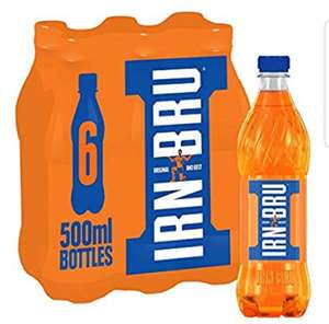 6 x 500ml bottles of IRN-BRU only £2.49 @ Homebargains