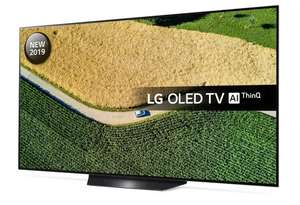 LG OLED55B9PLA 55 inch OLED 4K Ultra HD HDR Smart TV Freeview Play with 6 Year Warranty £1224 with code @ RicherSounds
