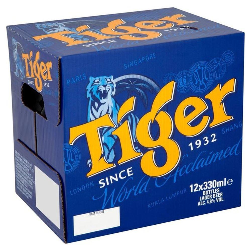 Tiger Beer 12 * 330 ml for £7 @ Morrisons
