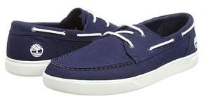 Timberland Men's Bayham Canvas Moccasin Loafers Size 8 Blue £16.71 with Prime / £21.20 non prime @ Amazon - Only 4 left