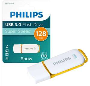 Philips Snow Series USB 3.0 Flash Drive USB 3.0 Memory Stick - 128GB - £13.99 Delivered @ 7dayshop