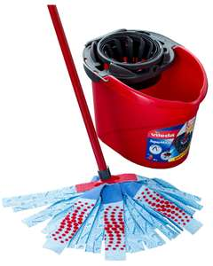 Vileda SuperMocio Torsion Mop Bucket and Power Press Wringer + Vileda Supermocio 3Action Mop XL - £9.88 with code @ Robert Dyas (free C&C)