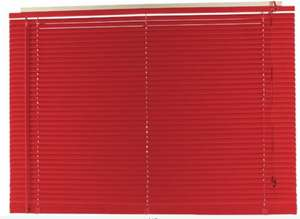 Argos  - PVC Venetian Blind - 4ft - Poppy Red - Size: Width 120Cm X Drop 160Cm £7.50 @ Argos (Free Click & Collect)
