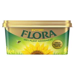 Half Price Flora Buttery Spread 500G - £1 @ Tesco