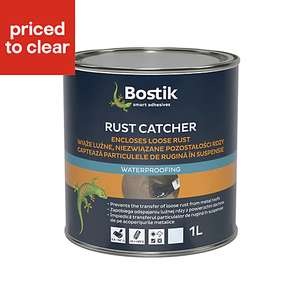 Bostik Clear Roof Sealant Rust Catcher £5 @ B&Q In Store & Delivery
