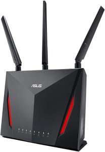 ASUS RT-AC86U Wi-Fi AC2900 (AI Mesh USB 3.0 Router, AiProtection by Trend Micro, AI Mesh  WTFast Game ACC. for £127.99 Delivered @ Amazon UK