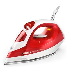 Philips Comfort Gc1424/40 Steam Iron Red for £15 at tesco