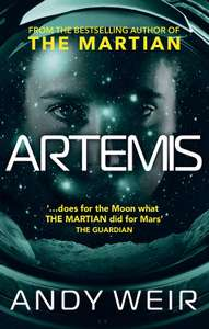Artemis (Kindle) by Andy Weir 99p Amazon