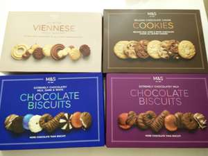 M&S biscuit boxes 500g £3 instore