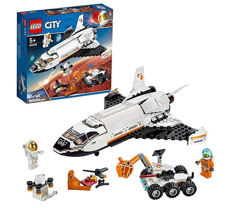 LEGO 60226 City Mars Research Shuttle Spaceship £15 @ Amazon (£19.49 NP)