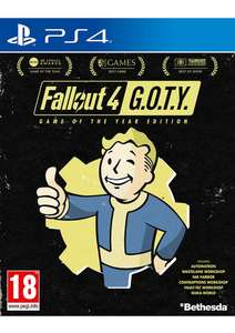 Fallout 4 - Game of the Year Edition ps4 £9.99 @ simplygames